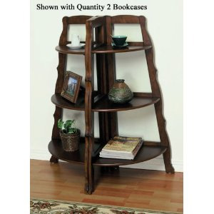Beautiful Sunburst Design Corner Stand Shelf