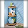InterDesign Formbu 3-Tier Corner Shelf